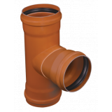 tubo coletor esgoto